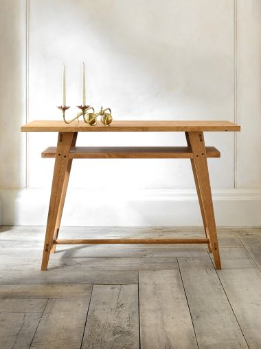 Two-Tier Side Console by Rose Uniacke