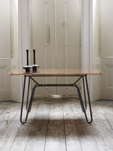 Straw Table by Rose Uniacke_1