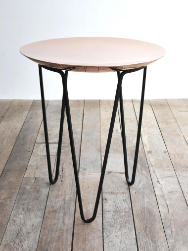 Copper Side Table_0