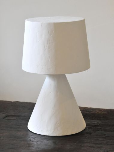 Plaster Table Lamp by Rose Uniacke_4