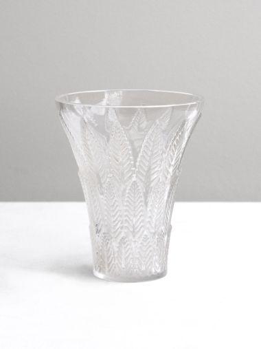Art Deco 'Chataignier' Vase by Lalique_0