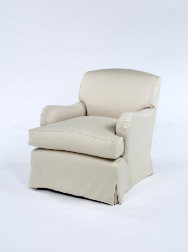 'Mother' Armchair with Loose-Cover_0
