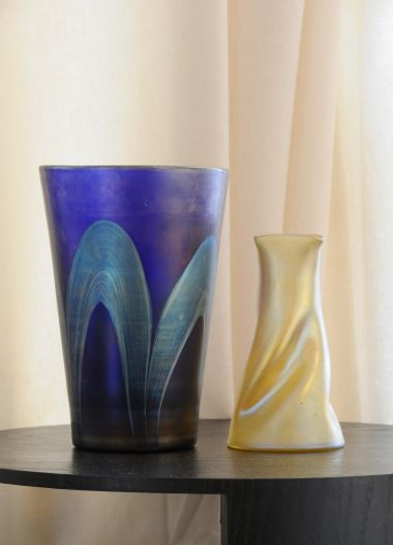 Art Deco 'Series III Blue' Vase by Loetz_3