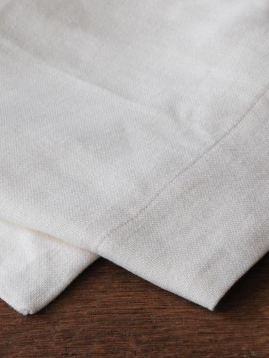 Rectangular Tablecloth in 'Popcorn' Heavy Weight Linen_1