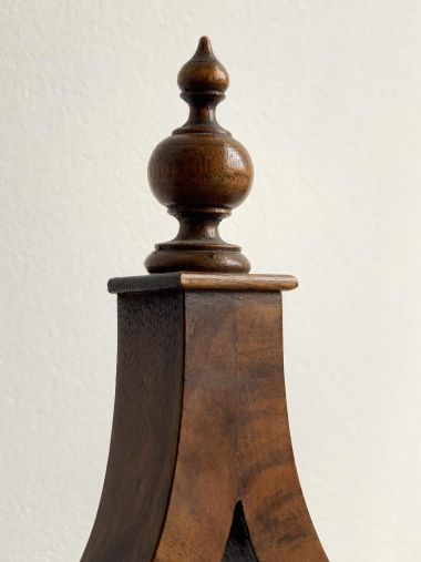 Late 19th Century Walnut Dressing Table Mirror_1