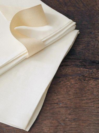 Tea Towels in 'Mallow' Linen_1