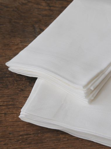Napkins in 'Frost' Linen