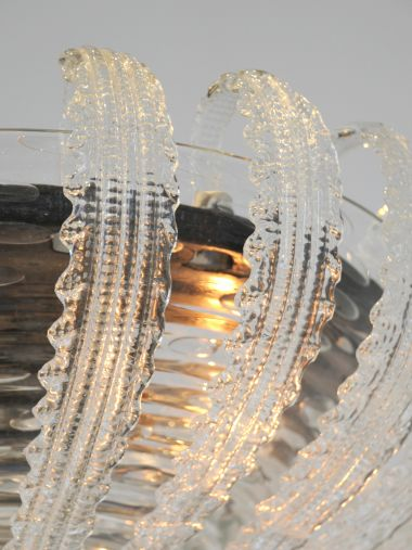 1940's Murano Glass Chandelier by Barovier & Toso_4