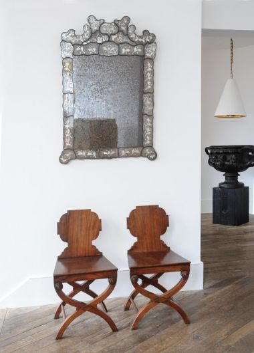 Pair of Regency Mahogany Hall Chairs_3