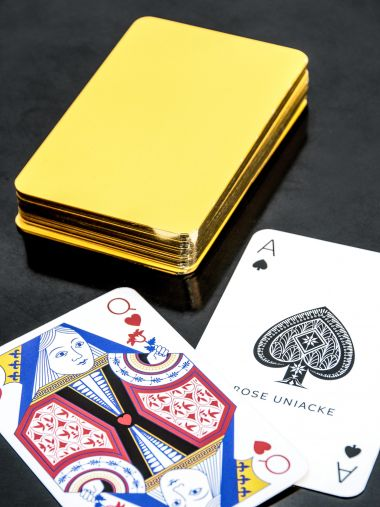 Playing Cards in Sunflower_0