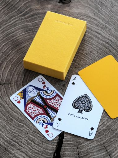 Playing Cards in Sunflower_1