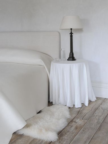 Felted Cashmere Bedspread by Rose Uniacke_1