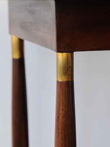Mahogany Inlaid Secessionist Occasional Table_2
