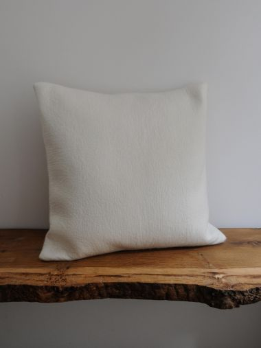 Large Felted Cashmere Cushion_2
