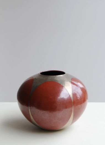 Hammered Copper Vase_0