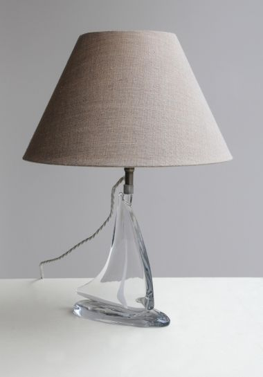 Pair of Glass Table Lamps_0