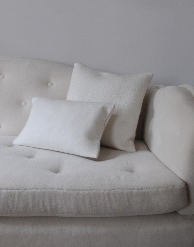 Large Felted Cashmere Cushion_0