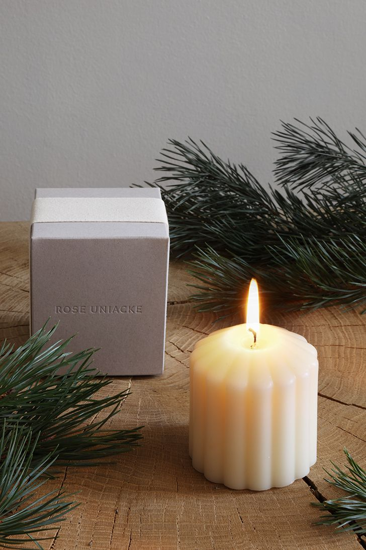 Fluted Candle - Fireside by Rose Uniacke_0