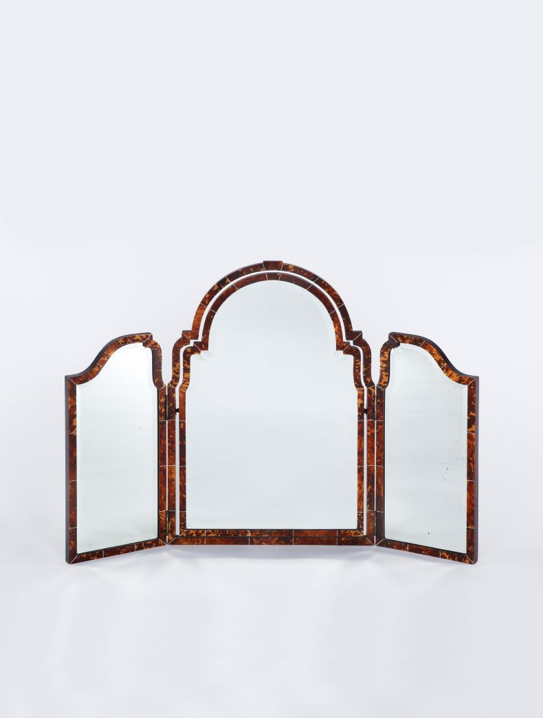 Art Deco Tortoiseshell Dressing Table Mirror_0