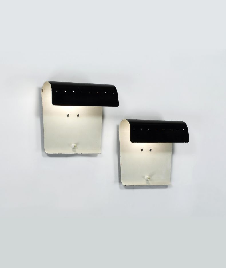 Pair of Model '193' Wall Lights by Jacques Biny_0