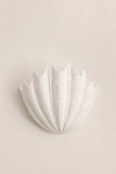 Plaster Shell Uplighter by Rose Uniacke_0