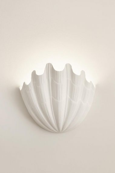 Plaster Shell Uplighter by Rose Uniacke_1