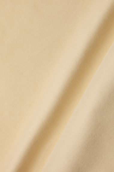 Cotton Velvet in Tallow_0