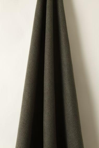 Heavy Weight Linen in Gunmetal_1