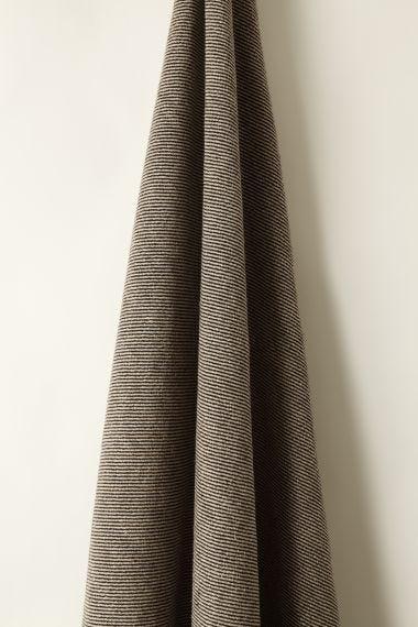 Textured Linen in Mono Twill_1