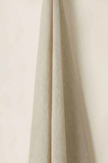 Sheer Linen in Tassle (Double Width)_1