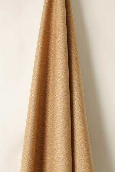 Wool in Herringbone Toffee/ Camel_1