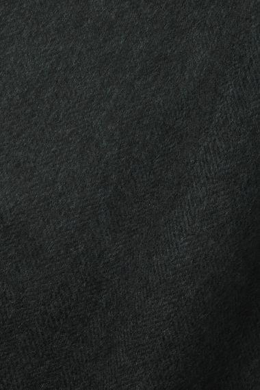 Wool in Herringbone Navy/Midnight_0
