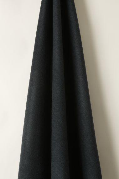 Wool in Herringbone Navy/Midnight_1