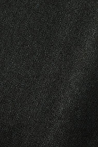 Wool in Herringbone Black/Blue_0