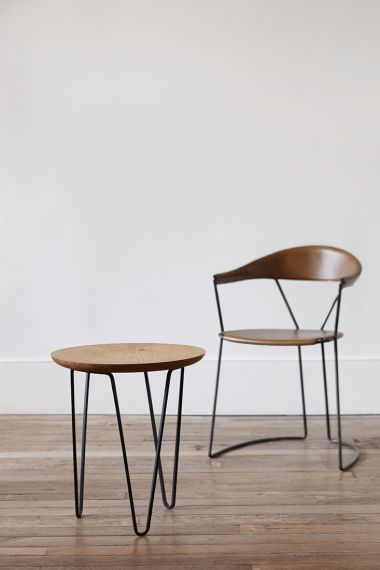 Chestnut Side Table by Rose Uniacke_3