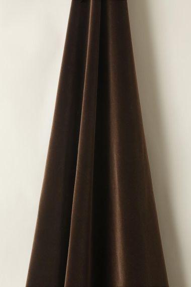 Cotton Velvet in Cocoa_2
