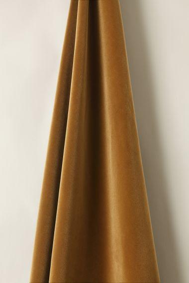 Cotton Velvet in Gingerbread_1
