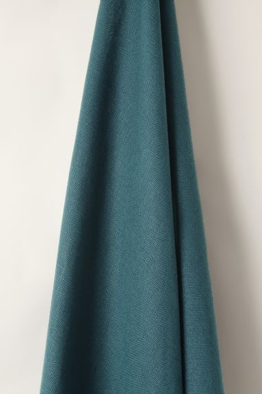 Heavy Weight Linen in Teal_2
