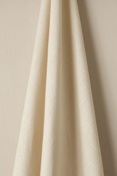 Heavy Weight Linen in Curd_1