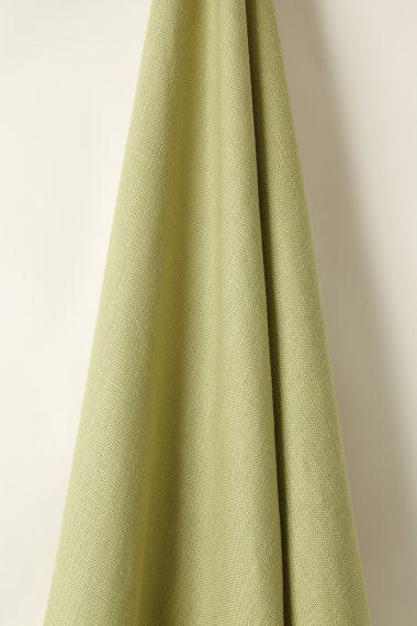 Heavy Weight Linen in Green Tea_1