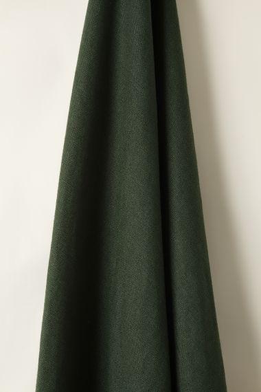 Heavy Weight Linen in Evergreen_1