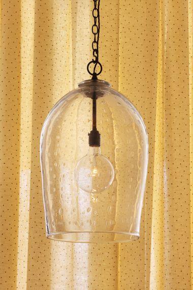 Sheer Linen in Burgundy spot on Honey by Rose Uniacke_0