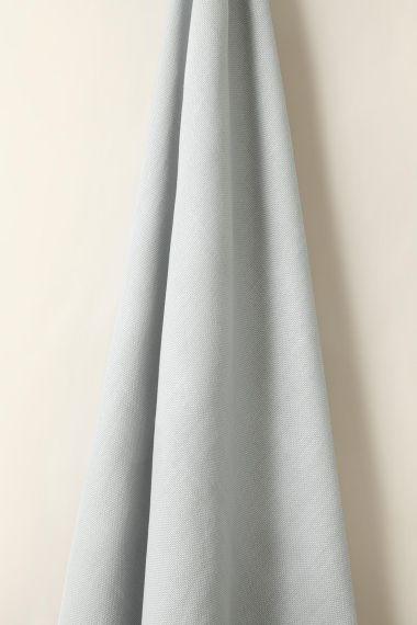 Heavy Weight Linen in Ice Blue_1