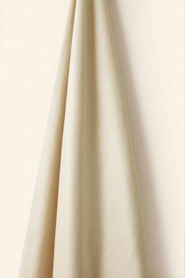 Mid Weight Linen in French Chalk_1