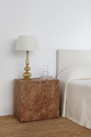 Double Floating Side Cabinet in Elm_0