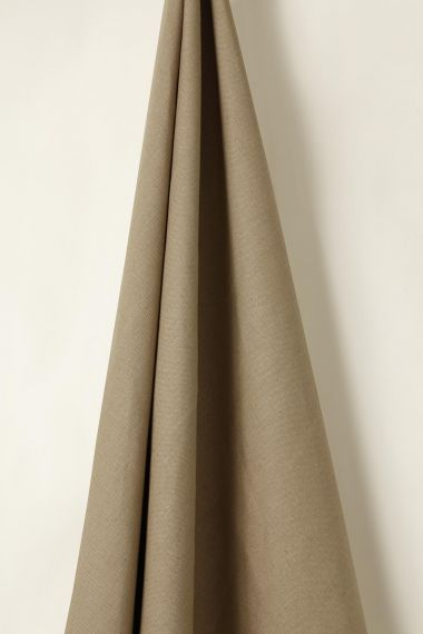 Mid Weight Linen in Mongoose_1