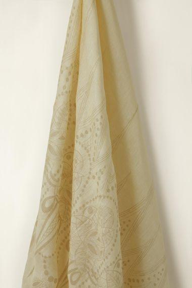 Sheer Linen in Biscuit Zelda on Honey_1