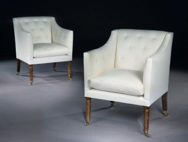 Luxury Designer Library Chair by Rose Uniacke