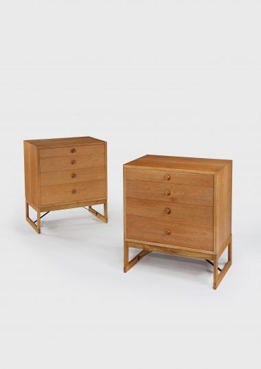 Pair of 1960's Swedish Oak Chest of Drawers_2