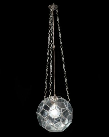 Small Leaded Glass Lantern by Rose Uniacke_3